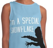 I'm a special snowflake Contrast Tank