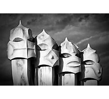 Gaudi's Guardians Photographic Print