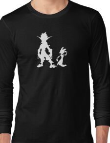 Jak and Daxter: The Precursor Legacy Silhouette 2 Long Sleeve T-Shirt