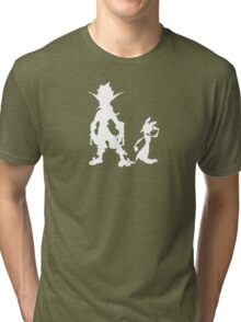 Jak and Daxter: The Precursor Legacy Silhouette 2 Tri-blend T-Shirt