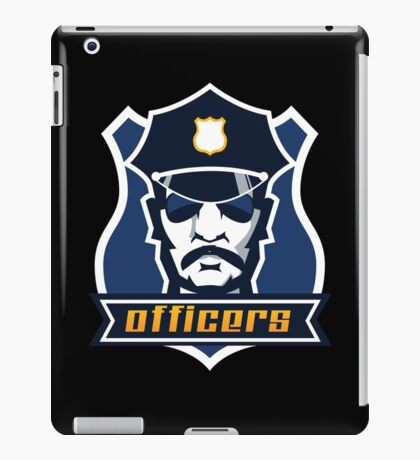 Police Officer iPad Case/Skin