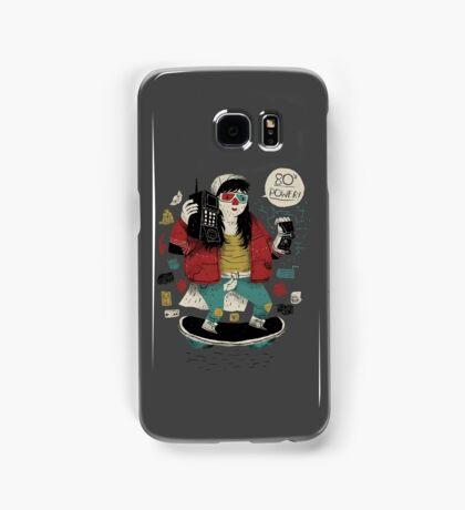 80's  power! Samsung Galaxy Case/Skin
