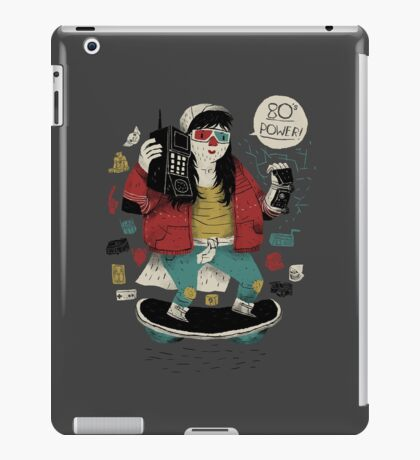 80's  power! iPad Case/Skin