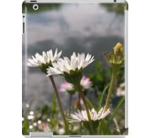daisies over river in norfolk iPad Case/Skin