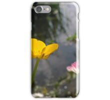 Buttercup and daisy river iPhone Case/Skin