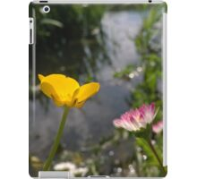 Buttercup and daisy river iPad Case/Skin