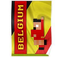 World Cup 2014 - Belgium Poster