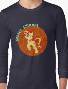 SunsetShimmerGlitter Long Sleeve T-Shirt