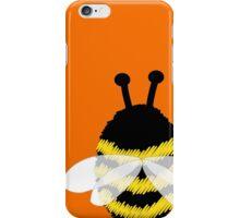 Bumble Bee on Orange. iPhone Case/Skin