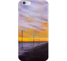 Winter Sunset by Neche iPhone Case/Skin