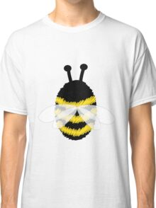 Bumble Bee on Orange. Classic T-Shirt