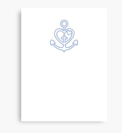 Love - Hope - Trust VRS2 Canvas Print