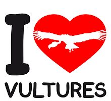 Herz Liebe I Love Vultures Logo by Style-O-Mat