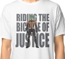 The bycicle of justice Classic T-Shirt