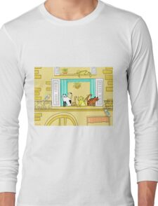 Kitty-Kat Chateau Long Sleeve T-Shirt