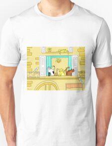 Kitty-Kat Chateau Unisex T-Shirt