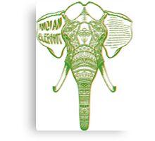 Psychedelic Elephant Canvas Print