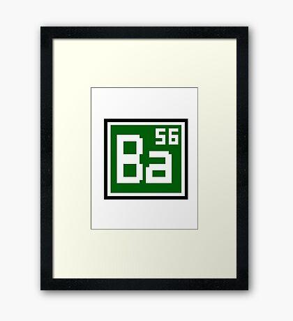 Ba Framed Print