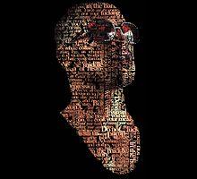 """Tyler Durden """"Face"""" by Larsonaa"""