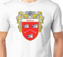 McGee Coat of Arms/Family Crest Unisex T-Shirt
