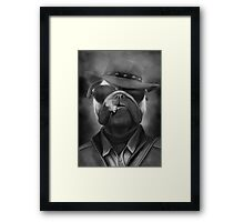MAFIA DOG Framed Print