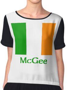McGee Irish Flag Chiffon Top