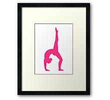 Rhythmic Gymnastics Framed Print