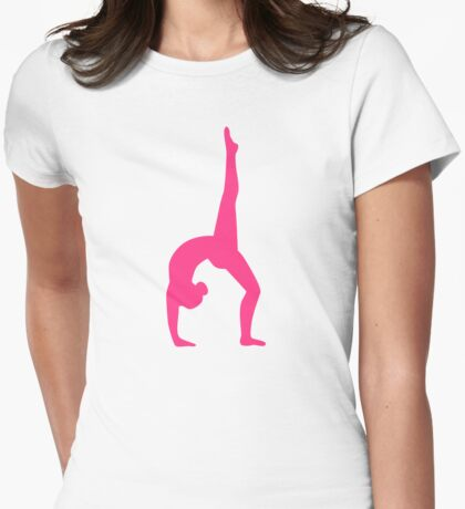 Rhythmic Gymnastics Womens Fitted T-Shirt