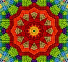 Lego, Mandala, Pixel Art, Colorful Design, Pattern, Brick, Build, Sticker
