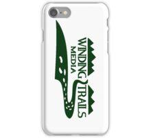 Winding Trails Media Green Logo iPhone Case/Skin