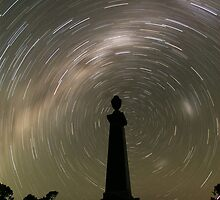 Startrails from the grave! by RobbieAlex