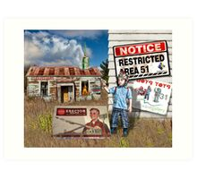 Council Restricted Art Print