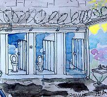Gaol Loo Watercolour by JayBoyd