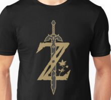 Zelda Breath of the Wild (Black) Unisex T-Shirt