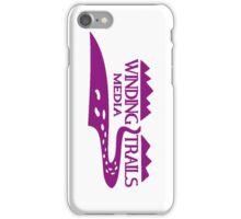 Winding Trails Media Purple Logo iPhone Case/Skin