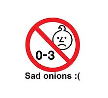0 - 3 Sad Onions Phone Case by bronyclothes