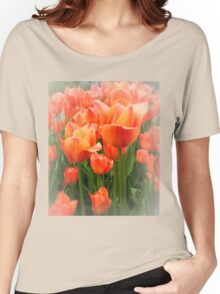 High Key Tulips Women's Relaxed Fit T-Shirt