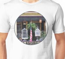 Porch With Bird Cages Unisex T-Shirt