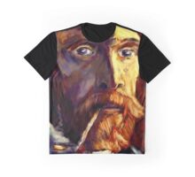 Vincent van Gogh in Sunlight Graphic T-Shirt