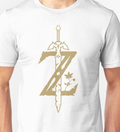 Zelda Breath of the Wild (White) Unisex T-Shirt