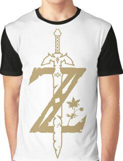 Zelda Breath of the Wild (White) Graphic T-Shirt