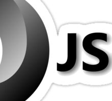 JSON JavaScript Object Notation Sticker