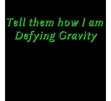 Defying Gravity Photographic Print