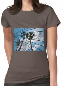 Peaceful Sky  Womens Fitted T-Shirt