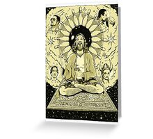 The Tao of Dude Greeting Card