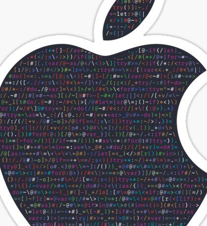 WWDC 2016 ASCII Logo Sticker