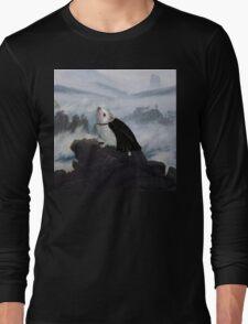 Hedgehog Above a Sea of Fog  Long Sleeve T-Shirt