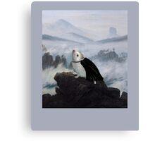 Hedgehog Above a Sea of Fog  Canvas Print