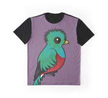 Birdorable Resplendent Quetzal Graphic T-Shirt