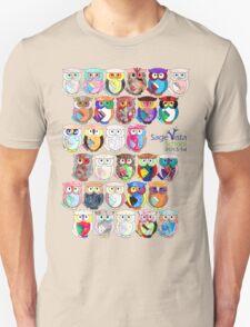 Sage Vista School Owls 2013-14 Unisex T-Shirt